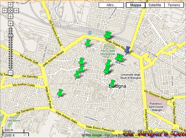 Auto Google Maps Google Maps Italy Temporary