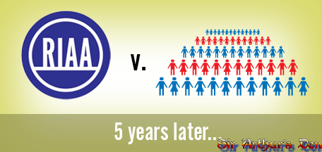 RIAA vs. the People - 5 years later