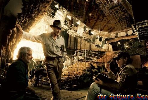 Harrison Ford, Steven Spielberg e George Lucas