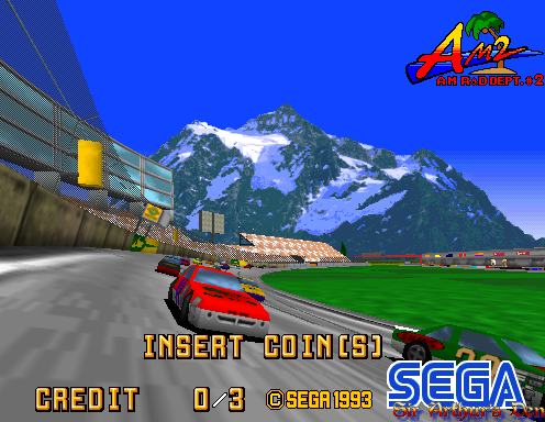 sega model 2 emulator full screen