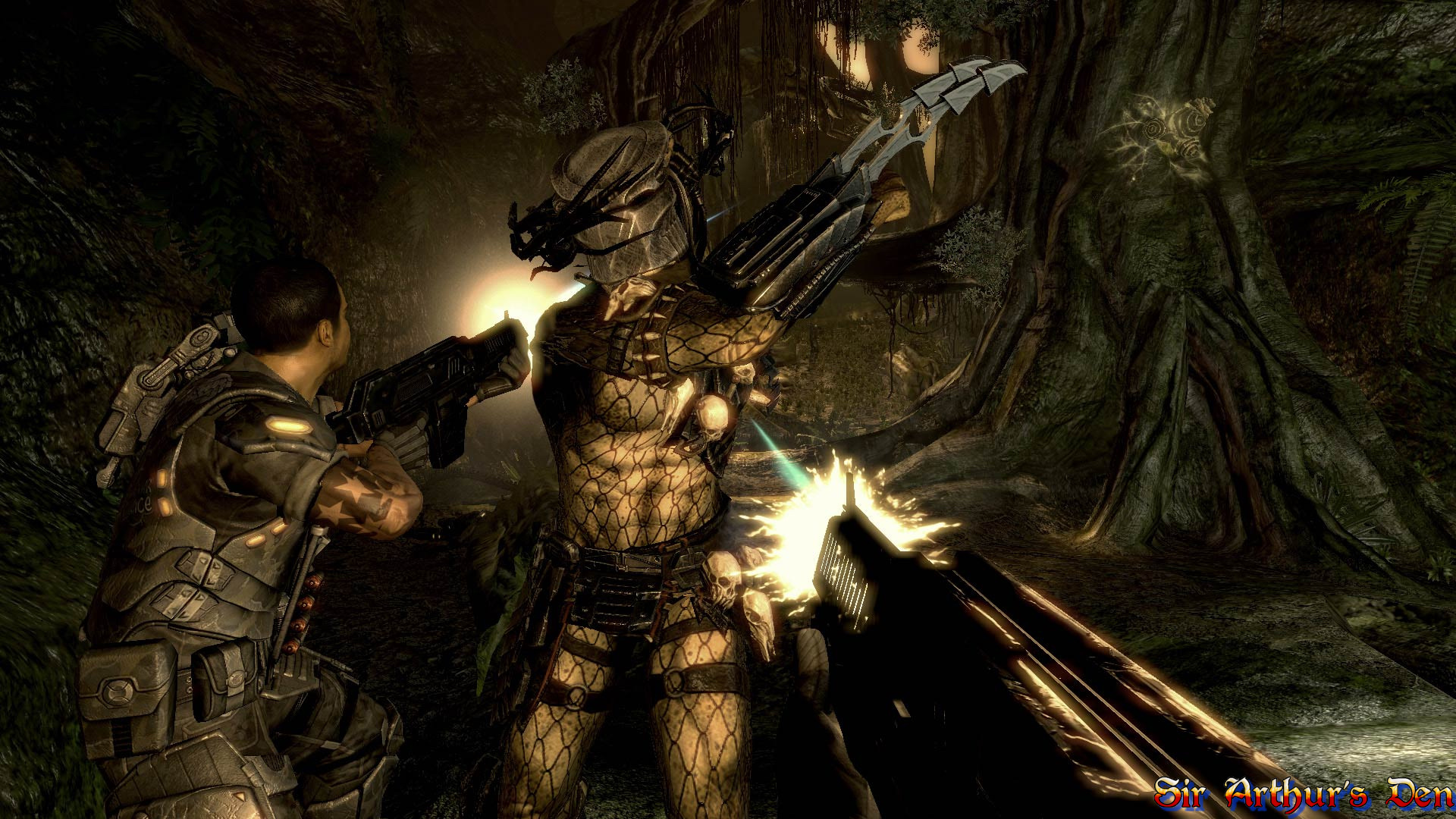 Aliens vs predator screenshot 1