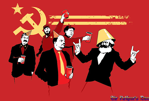 It's the Communist Party, baby