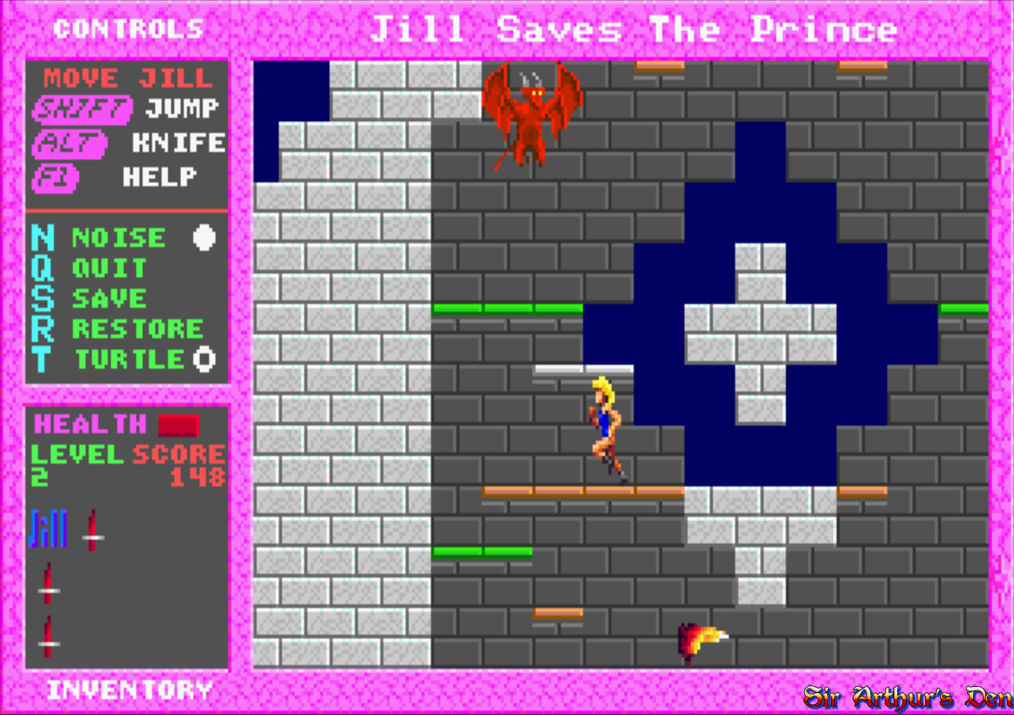 Jill of the Jungle: The Complete Trilogy available for free on GOG