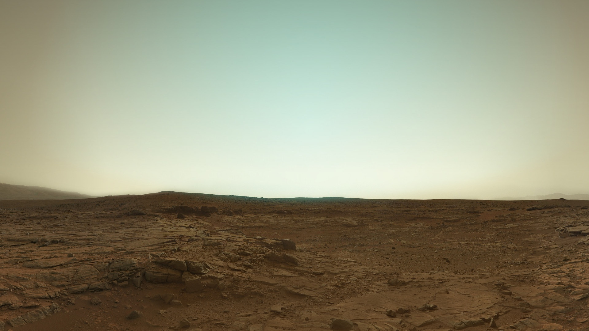 curiosity rover on mars background - photo #12