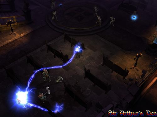 Diablo III, wizard - screenshot 1