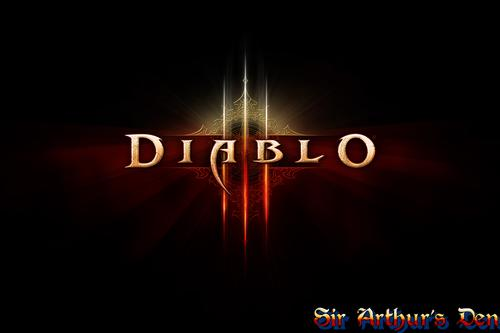 Diablo III - splash screen