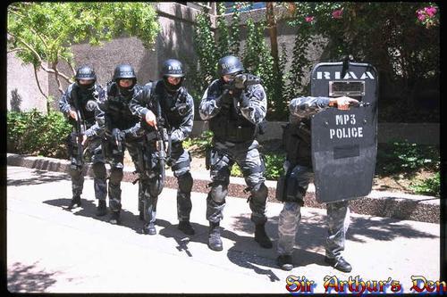RIAA MP3 police