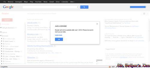 Google Reader R.I.P.