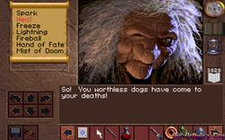 ScummVM - screenshot 1 (Lands of Lore)