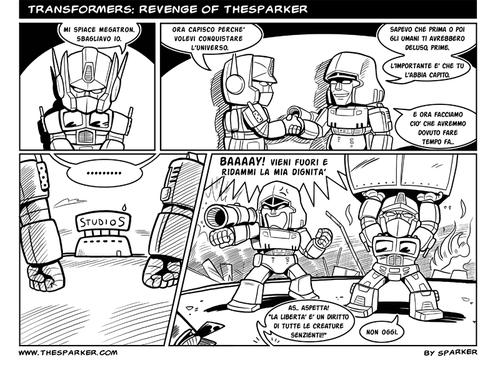 Transformers: Revenge of TheSparker
