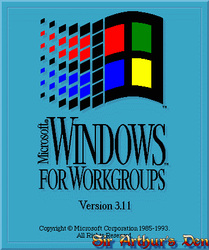 Windows for Workgroups 3.11 - logo