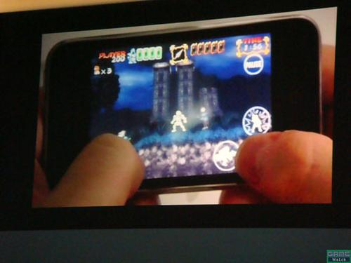 Ghosts'n Goblins per iPhone - screenshot 1