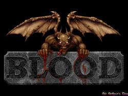 DOSBox 0.73 - Blood screenshot 1