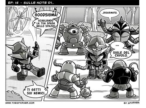 Noi Robot, episodio 15 - Sulle note di..