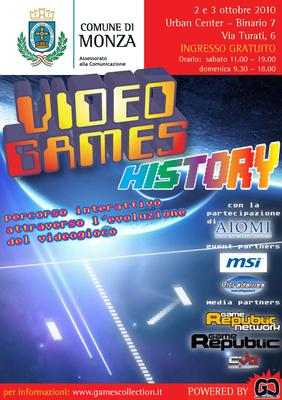 Video Games History - flyer