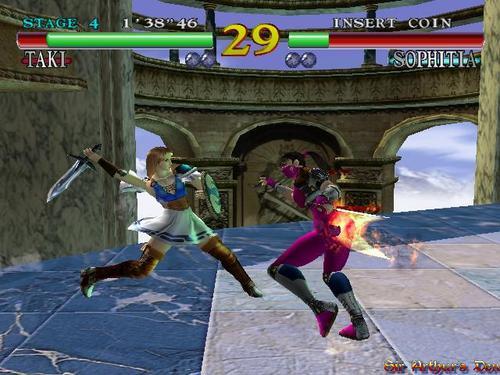 Soul Calibur (versione Dreamcast)