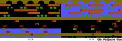 Frogger - DOSBox 0.73 vs. 0.74