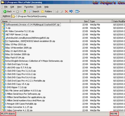 W32.Changeup - eMule Incoming folder