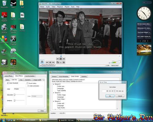 VLC media player 0.9.2 su Vista