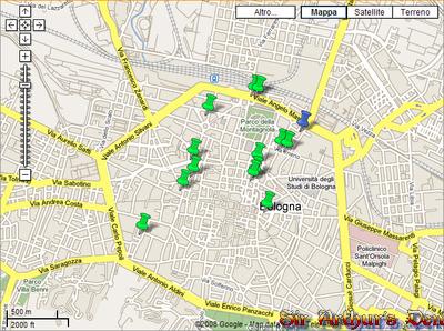 Google Maps Italia - Agenzie interinali di Bologna