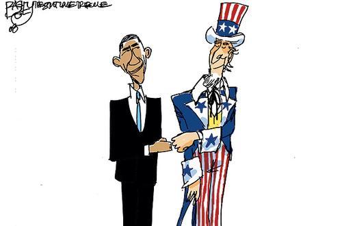 Barack Obama comic