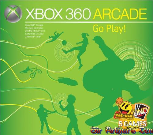 Xbox 360 Arcade - box
