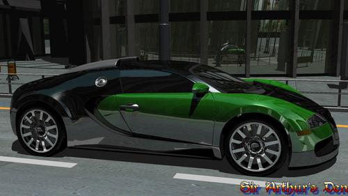 NVIDIA ray tracing tech demo (screenshot 1)