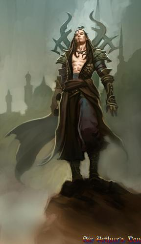 Diablo III, wizard - artwork 2