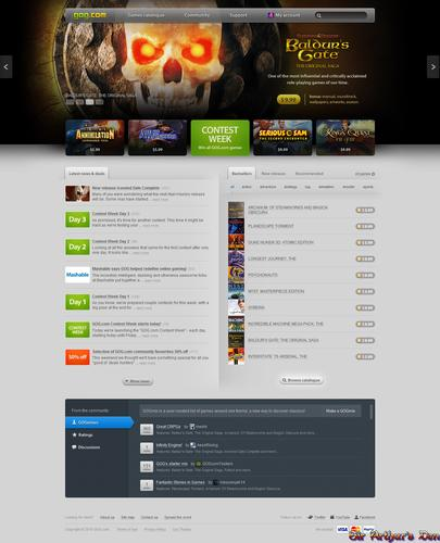 GOG.com - homepage