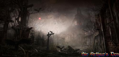 Diablo III - artwork (Tristram?)