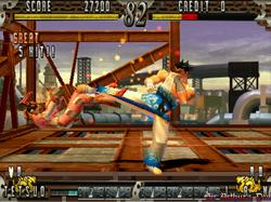MAME32 - Fighting Layer