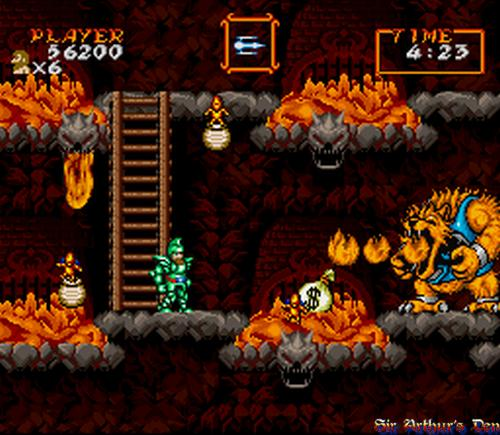 Super Ghouls'n Ghosts - Super Nintendo