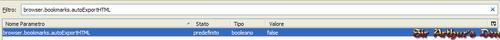 Browser.bookmarks.autoExportHTML - false