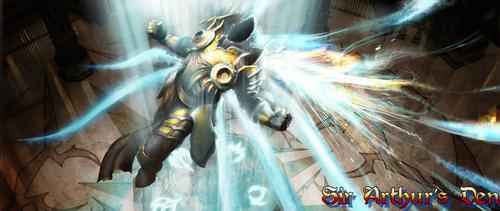 Diablo III - screenshot (Tyrael)