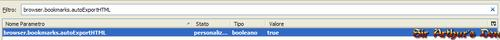 Browser.bookmarks.autoExportHTML - true