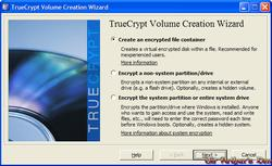 TrueCrypt - screenshot 1