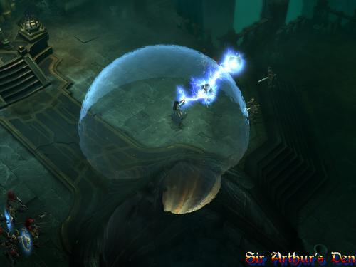 Diablo III, wizard - screenshot 5