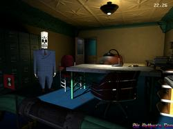 ResidualVM - screenshot 2 (Grim Fandango)