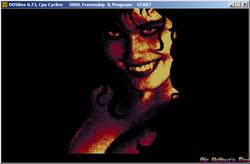 DOSBox 0.73 - Dylan Dog ep.1, screenshot 2