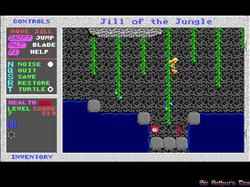 DOSBox 0.73 - Jill of the Jungle screenshot 2