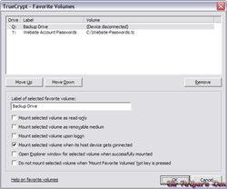 TrueCrypt - screenshot 3