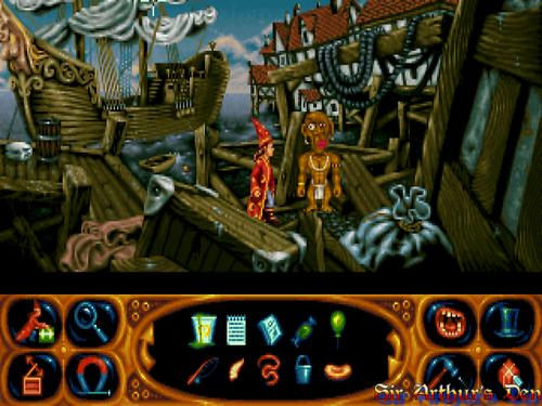 Simon the Sorcerer II - screenshot 1