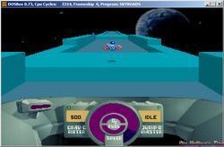 DOSBox 0.73 - Skyroads