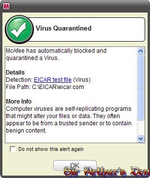 McAfee VirusScan 2007