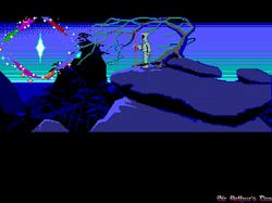 DOSBox 0.73 - Loom screenshot 3