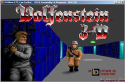 DOSBox 0.73 - Wolfenstein 3D screenshot 1