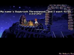 DOSBox 0.73 - The Secret of Monkey Island screenshot 2