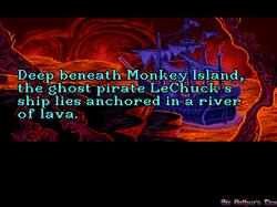 DOSBox 0.73 - The Secret of Monkey Island screenshot 5