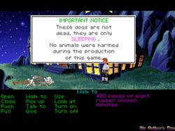 DOSBox 0.73 - The Secret of Monkey Island screenshot 6