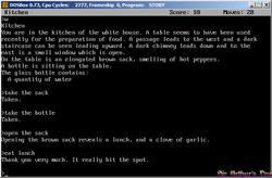 DOSBox 0.73 - Zork 1